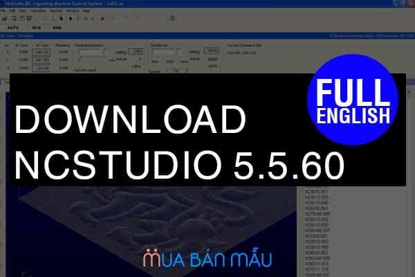 Download NCStudio v5.5.60 Full Crack tiếng Anh